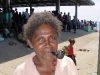 Frauen rauchen auch Pfeife